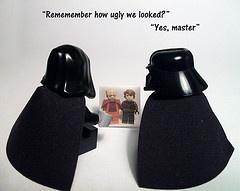 Star Wars Funny 19 by Lego.Skrytsson | LEGO Emperor Palpatine  & Darth Vader Minifigs