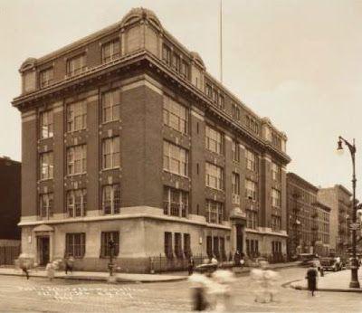 H A R L E M  +  B E S P O K E: ☞ REMEMBER: East Harlem's P.S. 85 circa 1920