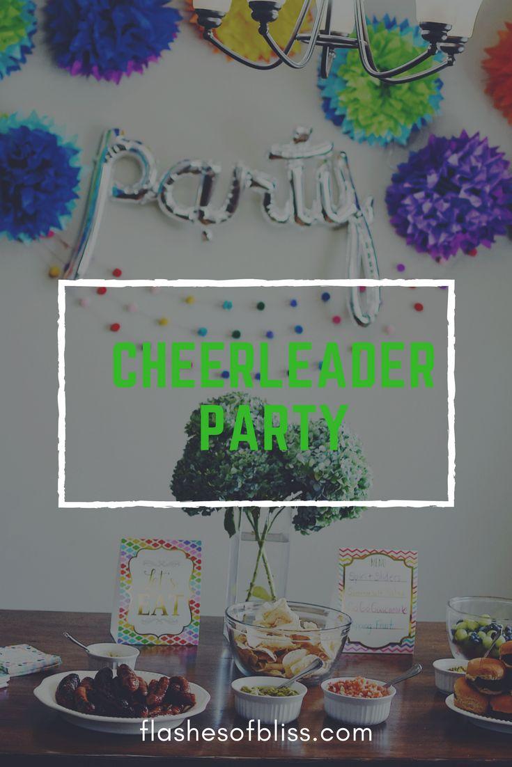 Create the best cheerleading birthday party!