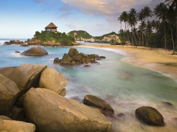 Tayrona National Park. You can check out my article on it here - http://bit.ly/wNw5nM