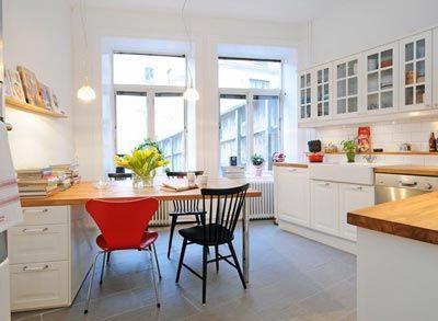 beyaz-mutfak-dekorasyonu