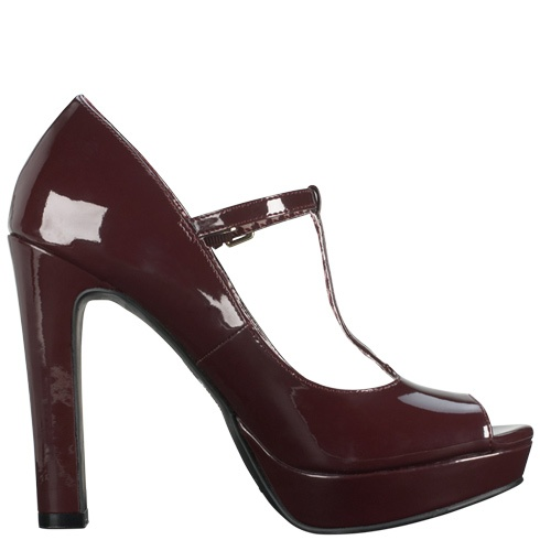 Womens Christian Siriano Hadley T-strap Pumps Payless Shoe Source