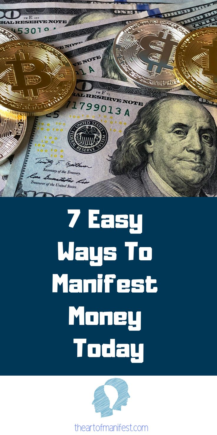 Want to learn how to Manifest Money using the law …