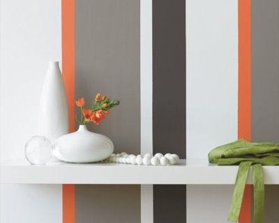 Bandes de couleurs - 20 peintures intérieures - L'Internaute Bricolage