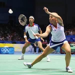 Badminton debuted at Barcelona in 1992. Rules of modern Badminton developed in UK. China, India & South Korea have won 23/24 gold medals. During 1800s, British officers in India added a net to the ancient game of 'battledore & shuttlecock'. The sport was named after Duke of Beaufort's home. Matches are best of 3. Each game won by person/pair who reach 21 points. Olympic shuttlecocks weigh 4.74g - 5.5g, contain 16 feathers plucked from left wing of a goose. Travel at speeds of 400km/h