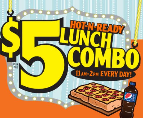 WIN A FREE Lunch!Little Caeser's Instant #WIN Game ===>Come back and let us know if you won!
