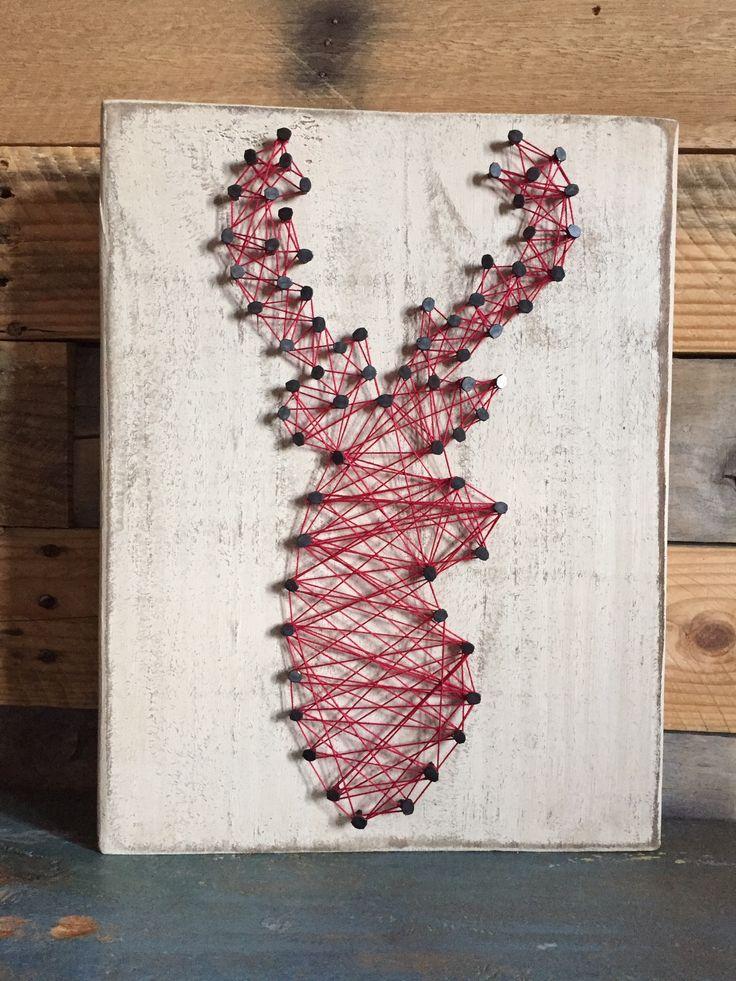 Oh deer {string art}