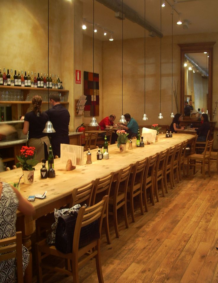 Le Pain Quotidien   Zona de restaurante   Antonio Lobo Mena   Flickr