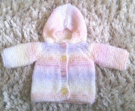 Free Knitting Pattern Baby Jacket With Hood : 17 Best ideas about Crochet Baby Jacket on Pinterest Crochet baby cardigan,...