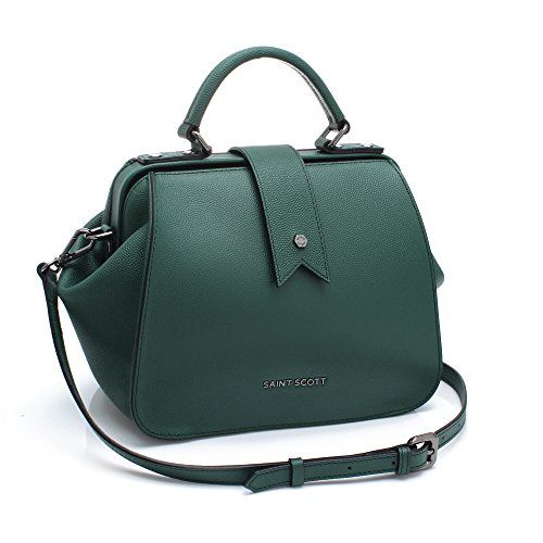 New Trending Shopper Bags: St. Scott LONDON Womens Lila Doctor Bag REMG2417 One Size Emerald Green. St. Scott LONDON Women's Lila Doctor Bag REMG2417 One Size Emerald Green   Special Offer: $207.80      288 Reviews [Size Info_inches] [One Size] Width : 9.4 Height : 7.7 Depth : 4.3 Shoulder Strap Length : 40.9 – 44.9 Weight : 1.6 lbs [Item Features]Fashionistas love every...