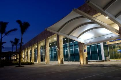 Cancún International Airport~ Cancun, Mexico, I just remember how hot it being as soon as samantha and I stepped outside :D