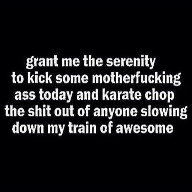 Here's to kicking ass on a Friday xo  Karate  chops allowed ... - #motivation