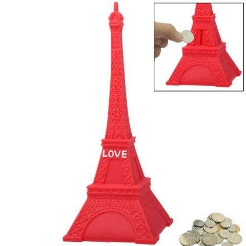 Alcancía Torre Eiffel
