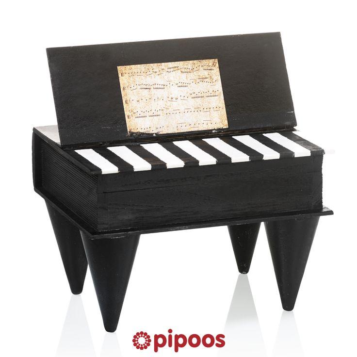 Sinterklaas surprise voor 5 december. Voor iemand met muzikaal talent maak je deze piano.