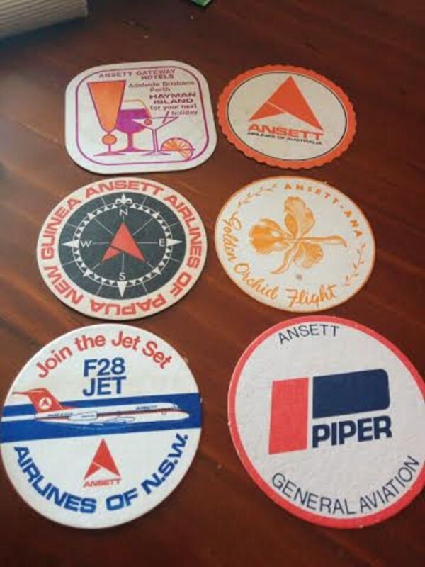 Ansett Airlines Coasters