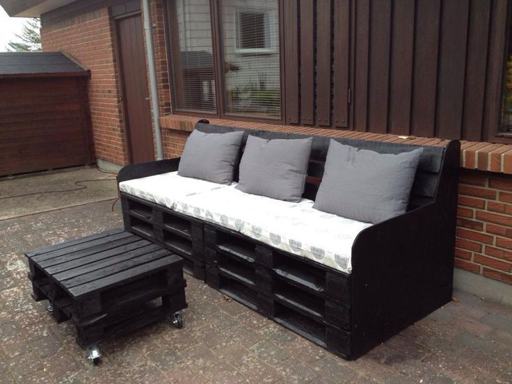 terrasse sofa bord kreativ med paller pinterest. Black Bedroom Furniture Sets. Home Design Ideas