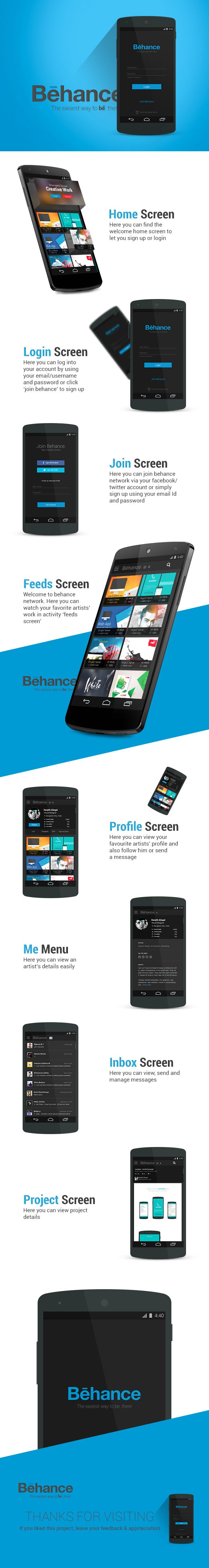 Behance Redesigned on Behance