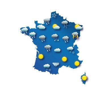 Avant de partir en France, consultez la météo pour savoir quels vêtements vous devez mettre dans votre valise !