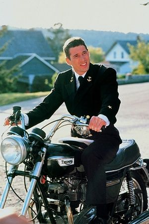 An Officer and a Gentleman | The Guardian: Triumph motorcycles at the movies - in pictures