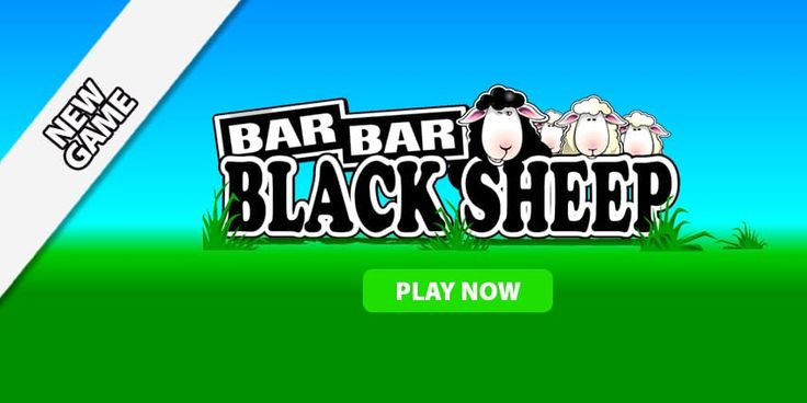 Will you win big with our latest game Bar Bar Black Sheep? #Casino #Win