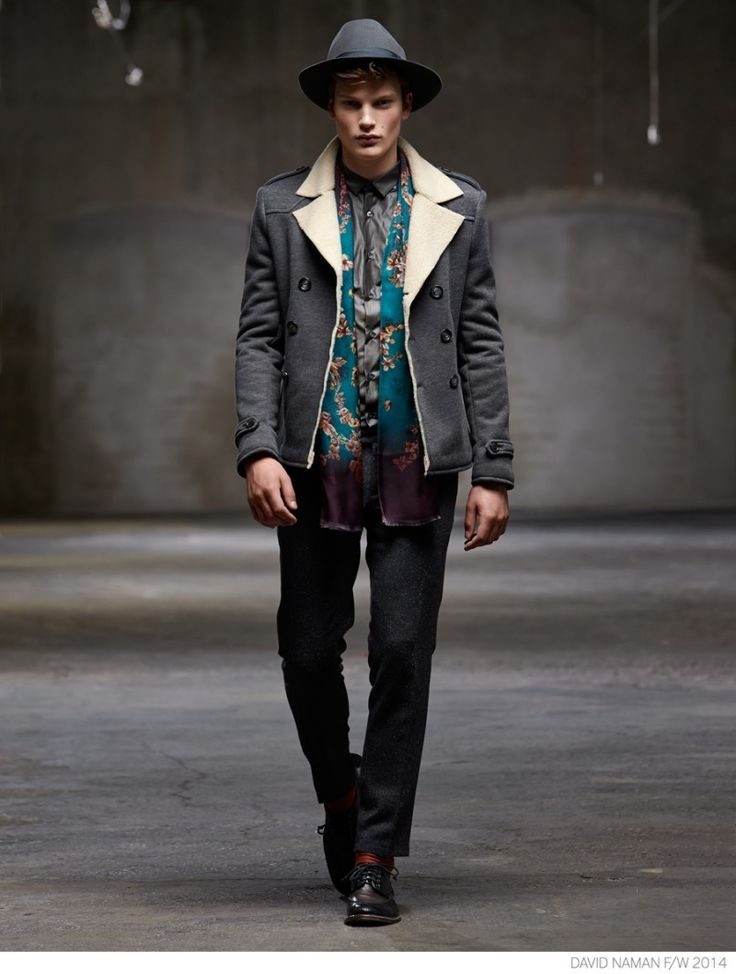 David Naman Embraces Modern Grunge Styles for Fall/Winter 2014 Collection image David Naman Fall Winter 2014 Collection Look Book 001 800x1059