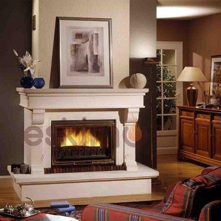 Eskimo Şömine Klasik Şömine Modelleri - Klasik tarzda döşenmiş evlerin vazgeçilmez modellerindendir. hareketli hatlara sahip, oymalı hatlara sahiptir