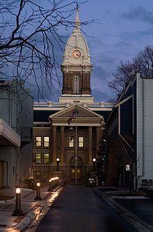 Ingham county courthouse Mason, MI