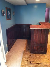 Roxanne Recycles: How To Build A Home Bar On A Budget