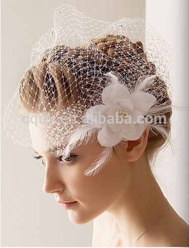 2014 Elegant Wedding Hair Accessories With Feather Flower /wholesale Hair Accessories - Buy Bridal Headwear,Birdcage Hairwear,Wholesale Hair Accessories Product on Alibaba.com