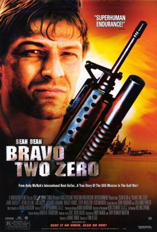 Bravo Two Zero Movie Poster 1999 27x40 Used