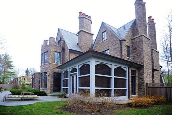 Enchanting Enclosed Porch