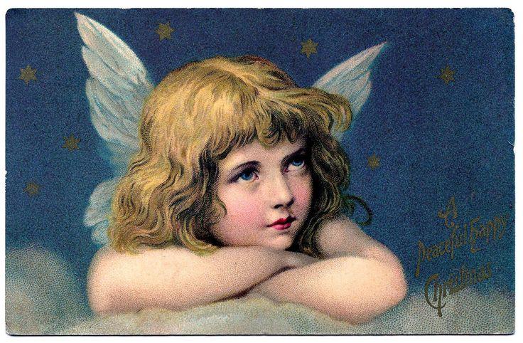 Angel+Christmas+vintage+image+graphicsfairy3.jpg (1600×1048)