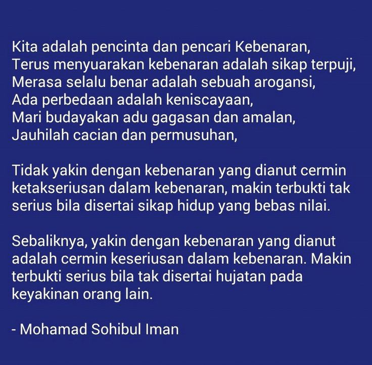 Moh. Sohibul Iman - Kutipan Islam