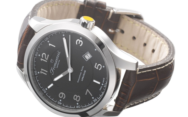Abraham watch, by Fromanteel. $435