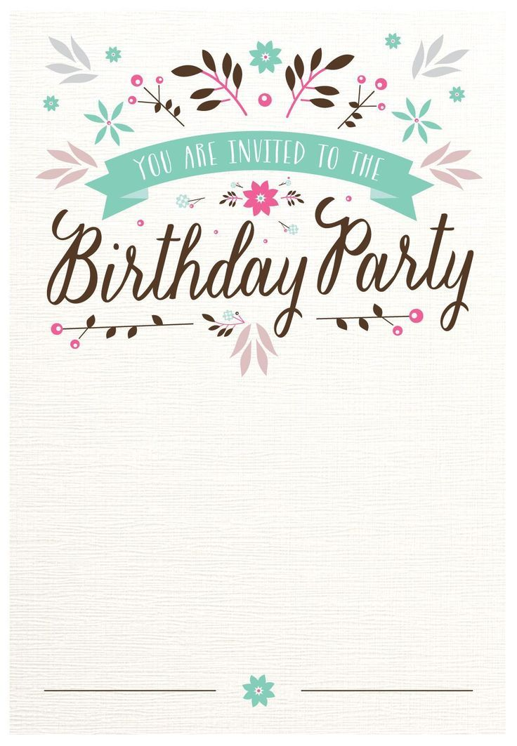 invitation 70th birthday template free