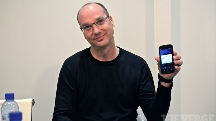 Android co-founder Andy Rubin may want to start a new smartphone company