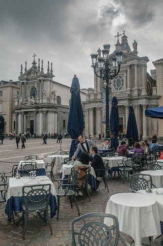 Turin  Italy. Piazza San Carlo