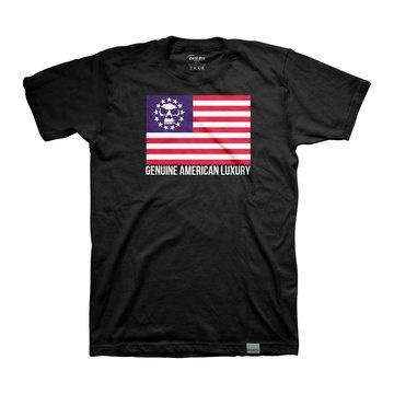 GOOD ART HLYWD. Genuine American Luxury flag TeeLuxury Flags, Flags Tees, Fab Com, American Luxury, Art Hlywd, Genuine American