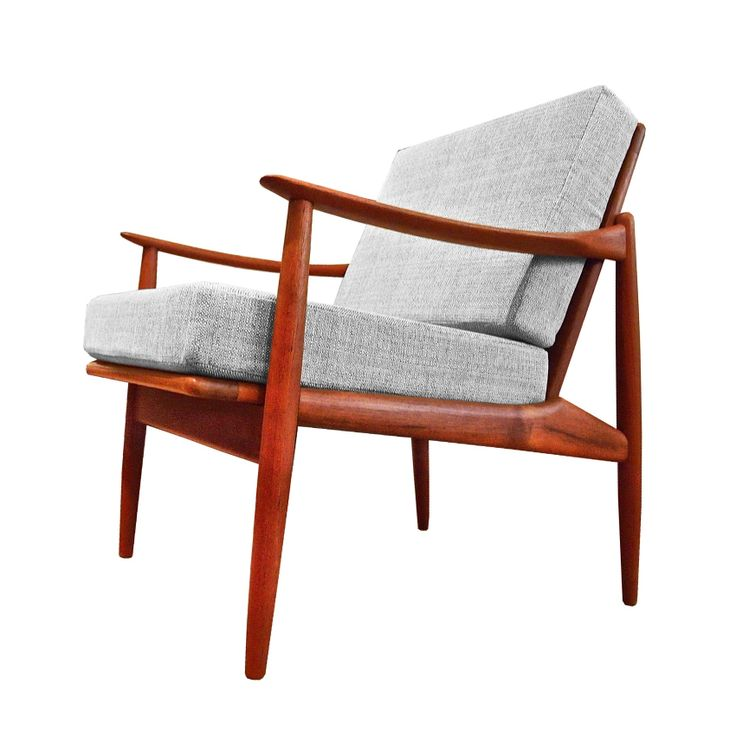 teak, danish, scandinavian, chair, mid century