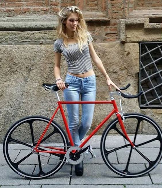 Image result for sexy female bike