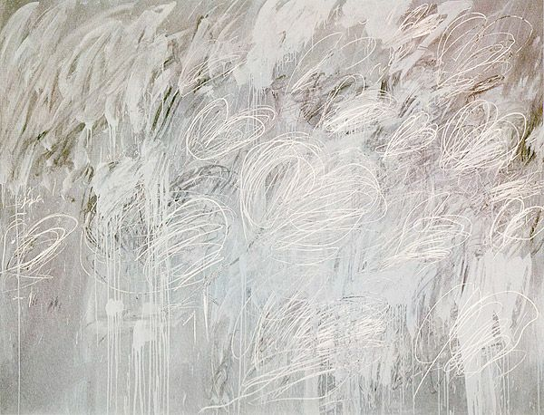 cy twombly white painting