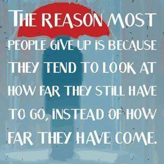 don't give up. Nursing school encouragement :)