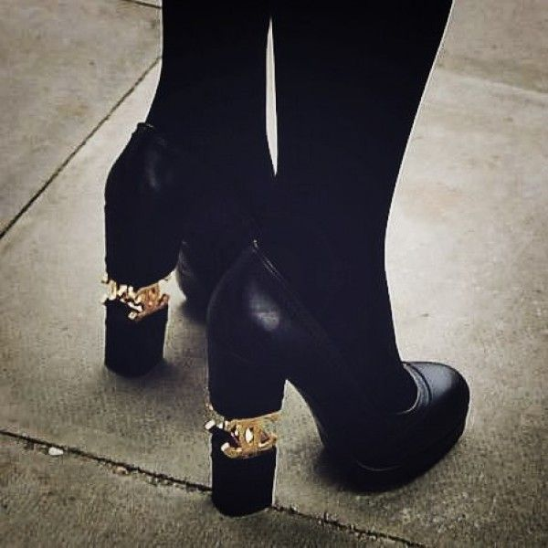 Awesome Chanel heels! Check out more great products on free local shopping app Snapette - www.snapette.com/app