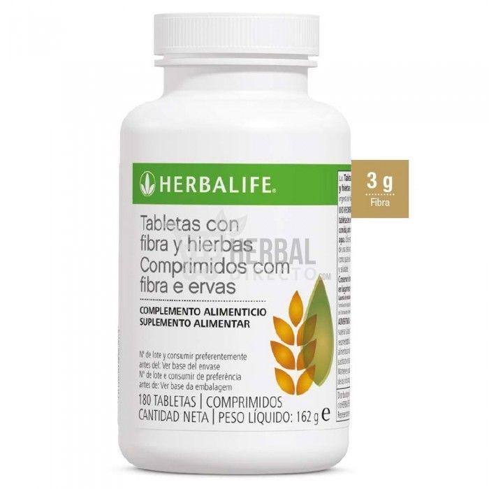 Fibra y Hierbas Herbalife® es un suplemento de fibra que le ayuda a alcanzar los valores de referencia de nutrientes de fibra de 25g por día