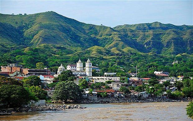 Magdalena River. Honda, Tolima, Colombia