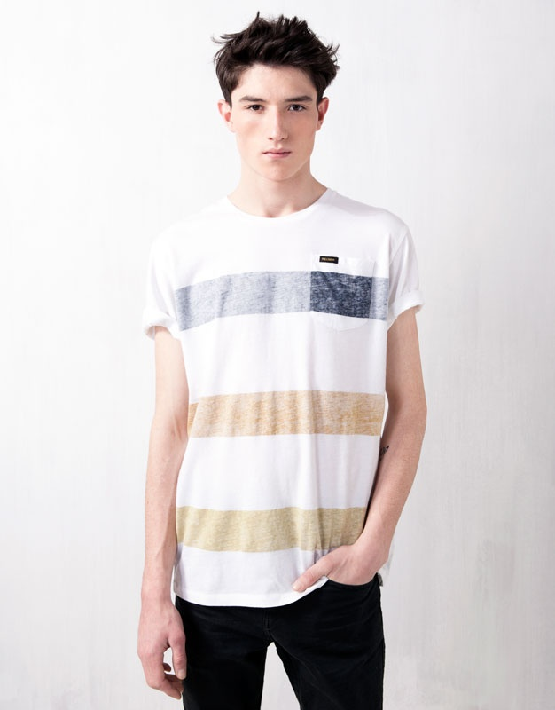 STRIPED T-SHIRT - T-SHIRTS - MAN - United Kingdom