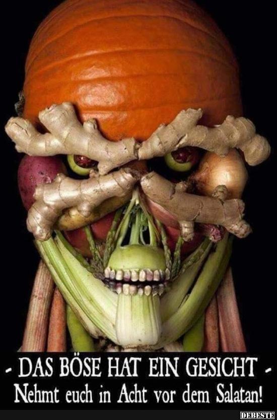Das Böse hat ein Gesicht.. | Lustige Bilder, Sprüche, Witze, echt lustig – Claudia