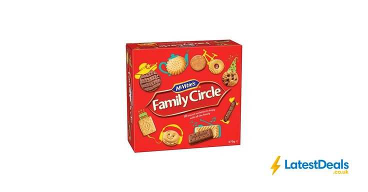 Mcvities Family Circle Biscuits 670G *Buy 1 Get 1 Free*, £4 at Tesco