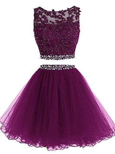 Lilibridal Two Pieces Short Beaded Prom Dress Tulle Appli... https://www.amazon.com/dp/B01GJLD528/ref=cm_sw_r_pi_dp_jCjExbXT8HZV6