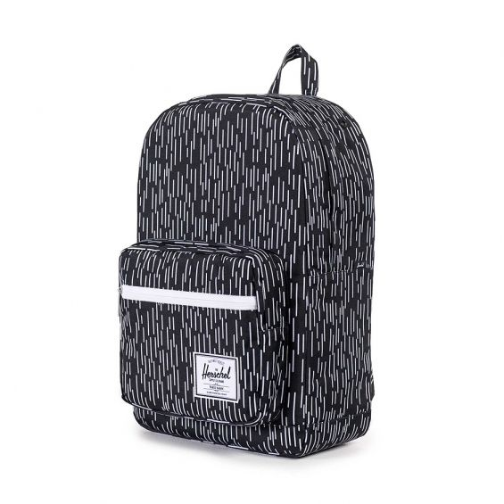 Herschel Supply Pop Quiz, Black White Rain Camo